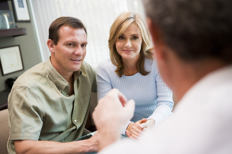 Fertility specialist consultation